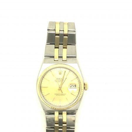 Orologio Rolex vintage Datejust Oysterquarz acciaio e oro