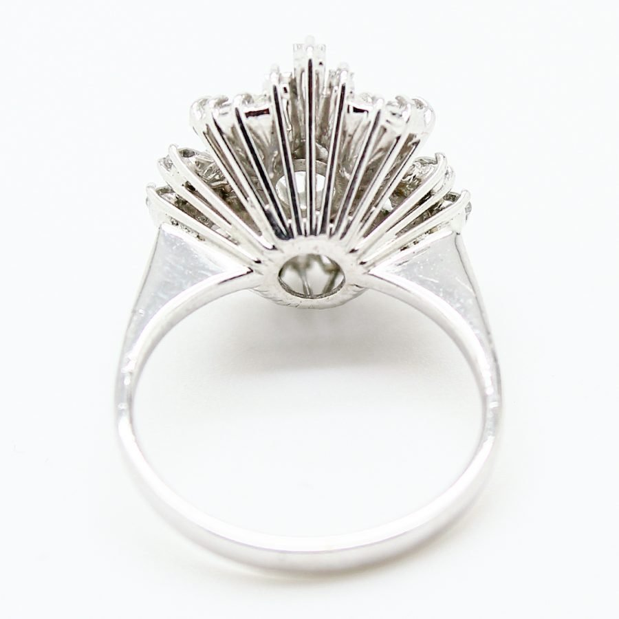 Anello Vintage in Oro e Diamanti