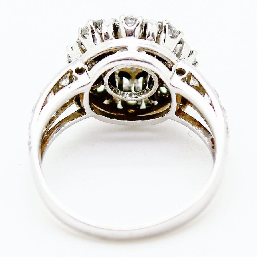 Anello anni 60 in Oro e Diamanti