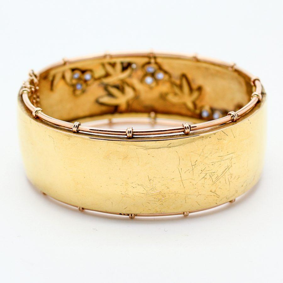 Bracciale Borbonico in Oro, Perle e Zaffiri