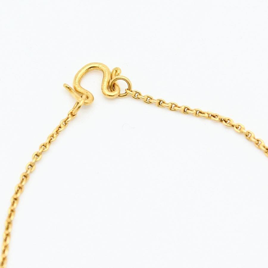 Collier Antico in Oro e Rubini